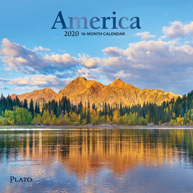 America Mini Wall Calendar, Scenic America by Calendars