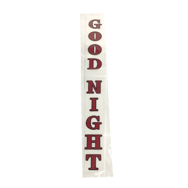 Good Night Sticker