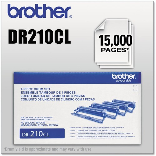 Brothers BRTDR210CL - Brother DR210CL Drum Unit
