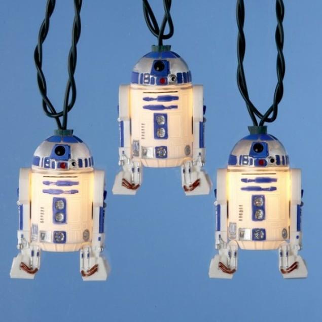 R2D2 Christmas Lights Star Wars Strand String R2 D2 Xmas Movie