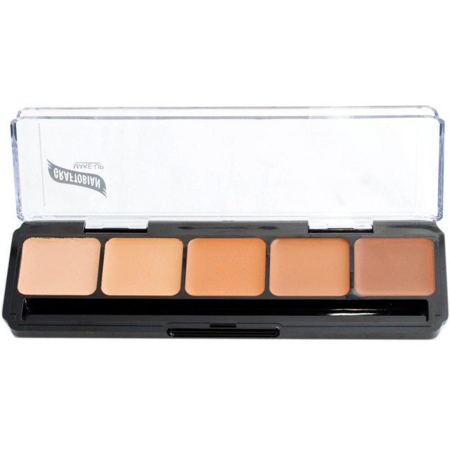 Warm Palette #3 HD Glamour Creme Foundation Palette