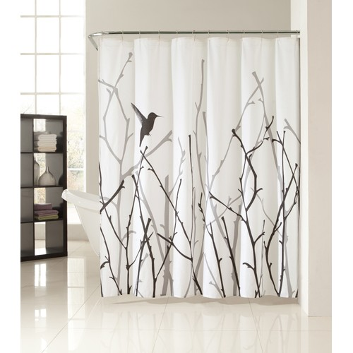 Vicki Bird and Branches Polycotton Shower Curtain