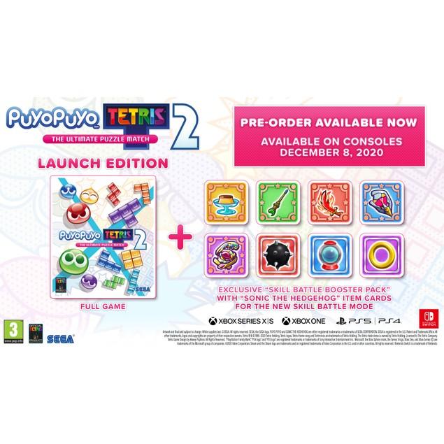 Puyo Puyo Tetris 2 Nintendo Switch Game