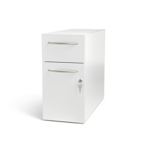Direction Modern Slim 2-Drawer File Cabinet