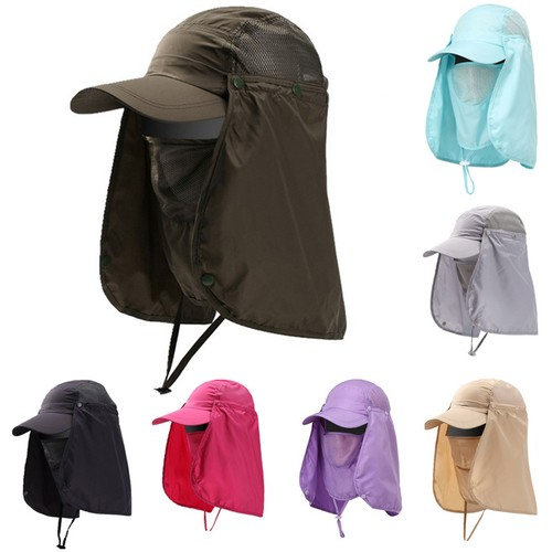 Long Outdoor Uv Protection Quick-drying Hat Unisex