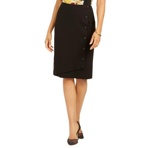 Kasper Women's Pencil Skirt Black Size 6