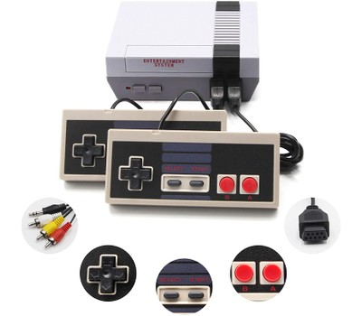 Retro Inspired Game Console 620 Games Loaded Was: $48.99 Now: $33.99.