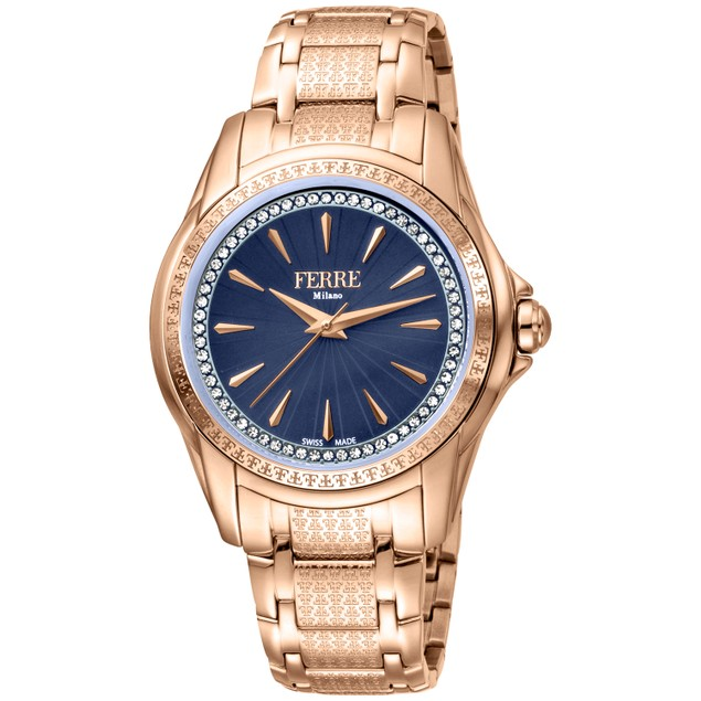 Ferre Milano Women's Classic Silver Dial Watch - FM1L119M0071