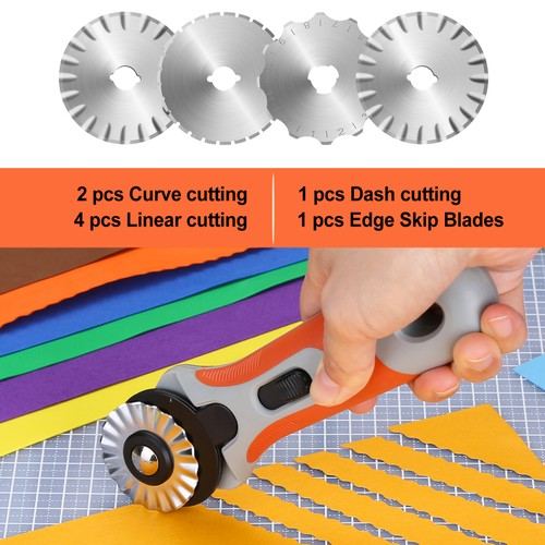 ROTARY CUTTER 45MM SET PERFECT FOR CUTTING FOAMS & LEATHERS