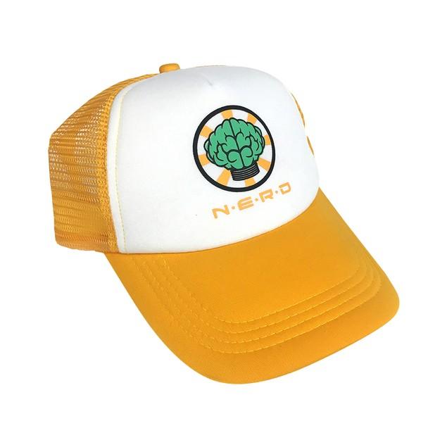 NERD Trucker Hat Gold
