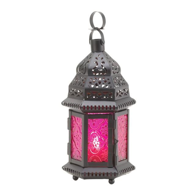 Koehler Home Decor Indoor Mulberry Moroccan Lantern
