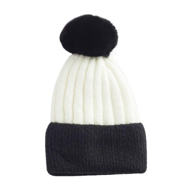 Women Winter Keep Warm Crochet Ski Hat Braided Cap t