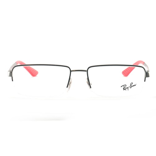 Ray-Ban Men's Eyeglasses Frames RX 6352I 2620 Gunmetal 54 17 140 Semi-Rimless