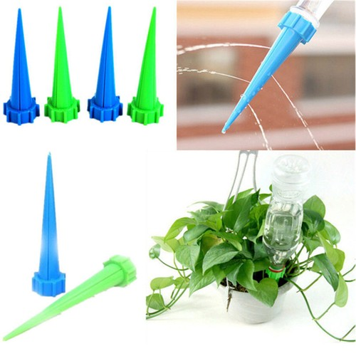 12-Pack Auto Drip Irrigation for Plant Flower Novelty Watering Device