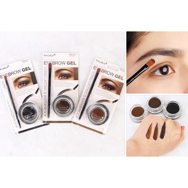 Nabi Eyebrow Gel 3 Options Bellechic