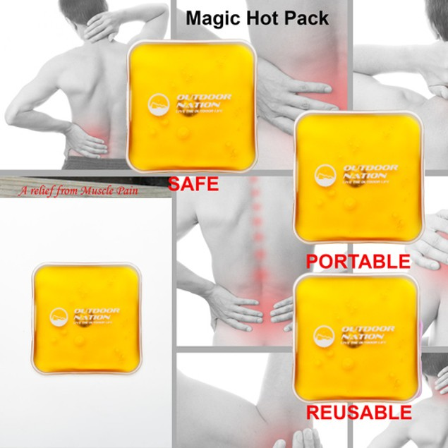 8-Pack Outdoor Nation Reusable Heating Packs