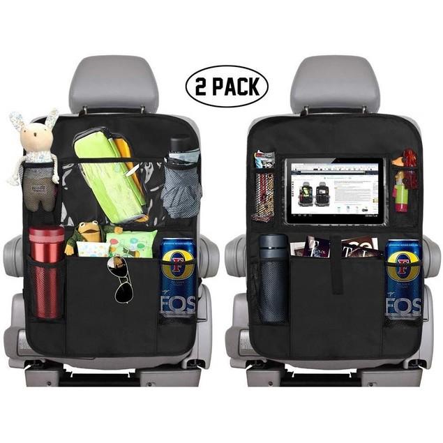 2-Pack Backseat Car Organizer