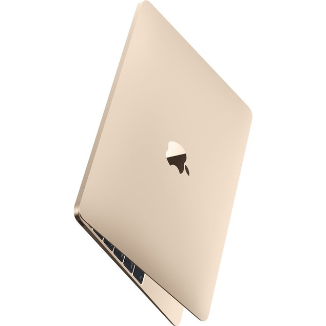 "Apple MacBook MLH72LL/A 12"" 512GB macOS 10.12, Gold (Refurbished)"