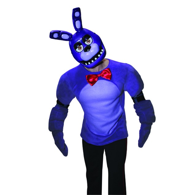 Five Nights At Freddy's Bonnie 1/2 Mask Adult