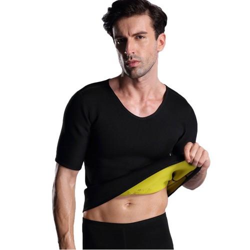 Men's Sweaty Fitness Running Sauna Body Shaper