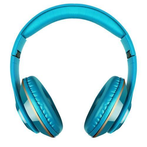 BLUETOOTH HEADPHONES STEREO HEAVY BASS EARPHONES OVER THE EAR HEADSET