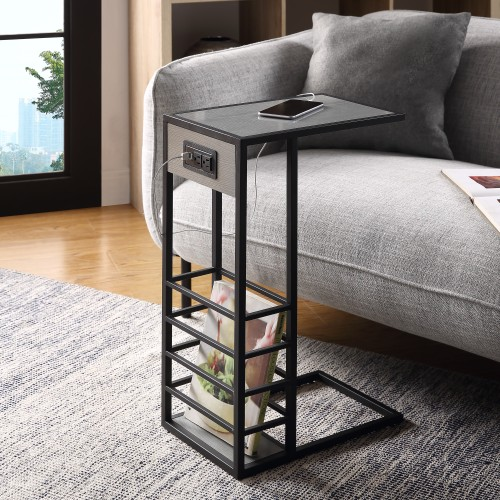 Loft Lyfe Thatcher  C Table/ End Table/ Side Table/ Laptop Stand
