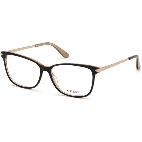 Guess Womens Eyeglasses GU2754V 001 Shiny Black 52 14 140 Frames Square
