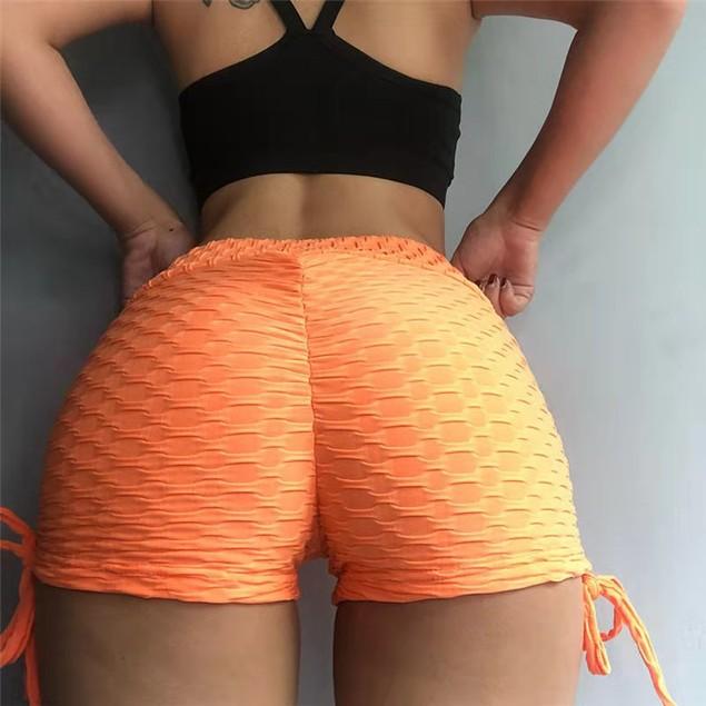 Women's Jacquard Yoga Shorts