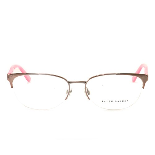 Polo Eyeglasses RL5075 9209 Silver/Pink Metal 54 16 135 without case finish line