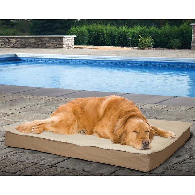 Furhaven Deluxe Outdoor Bed with Removable Cover