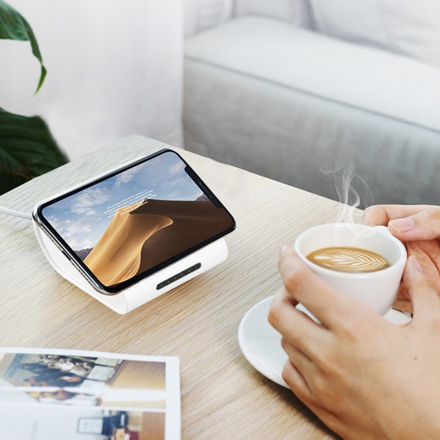 Qi Wireless Charger 10400mAh Power Bank 5W Wireless Charger Pad