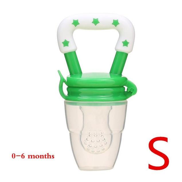 Handle Feeding Pacifier Fruit Baby Nipple