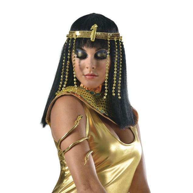 Gold Snake Cleopatra Arm Cuff