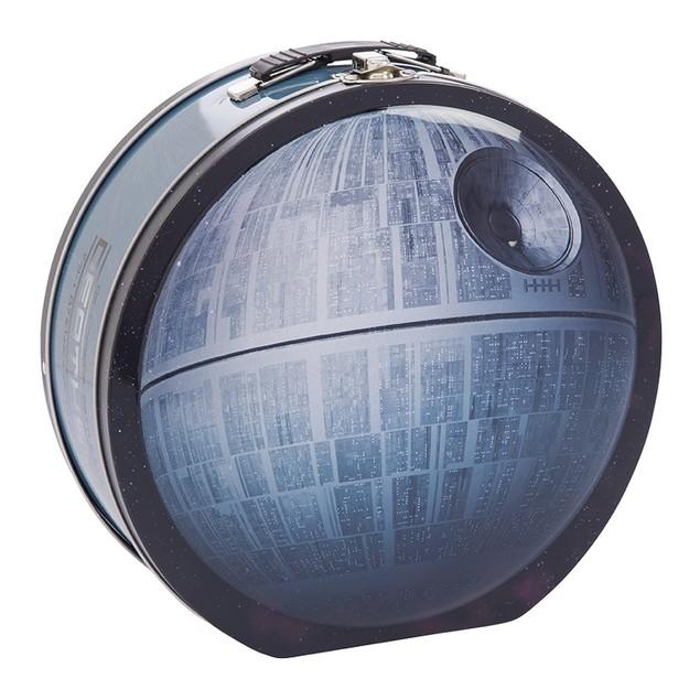 Star Wars Death Star Shaped Tin Tote