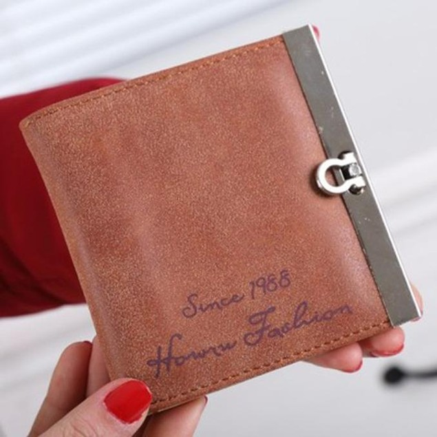 Lady Women Ultrathin Mini Purse Leather Wallet Credit Card Holder Bags