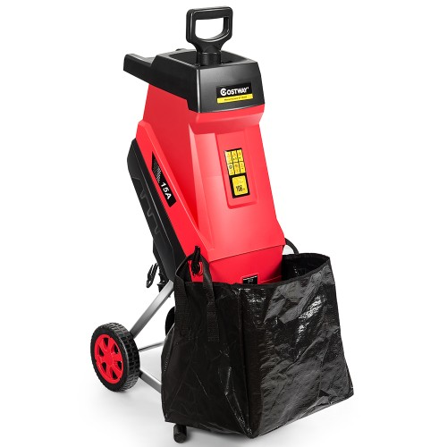 Costway 15 Amp Electric Wood Chipper