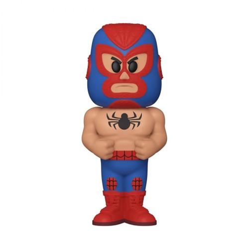 Luchadores Spider-Man SODA Vinyl w/Chase (Metallic)