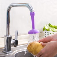 Splash-proof Water-Saving Device For Faucet
