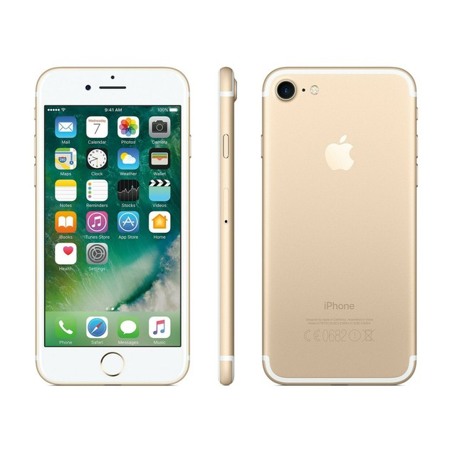 Apple iPhone 7 128GB Factory GSM Unlocked T-Mobile AT&T 4G LTE Smartphone Gold