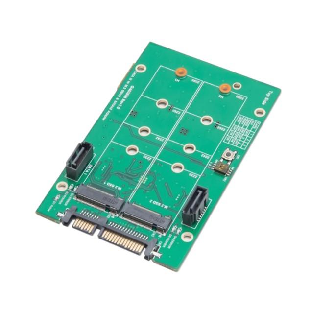 "3.5"" SATAIII to M.2 SSD RAID Adapter"