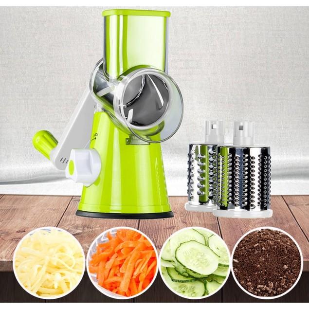 Vegetable Mandoline Slicer Round Drum Slicer Vegetable Fruit Cutter
