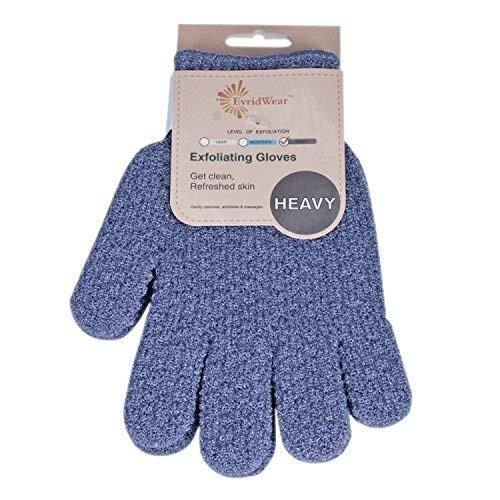EvridWear Strong Exfoliating Hydro Body Scrub Gloves Dead Skin