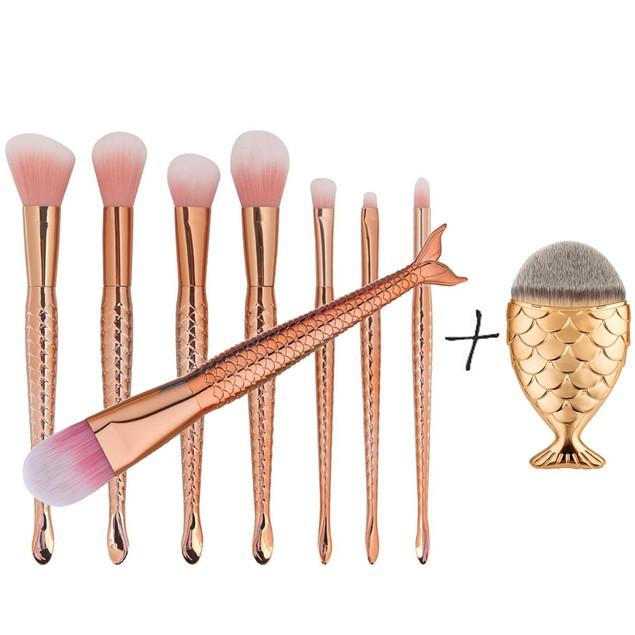 9PCS Make up Brushes Set Foundation Powder Blusher Face Brush 139