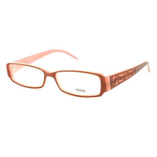 Fendi Women's Eyeglasses FF664 255 Brown/Pink 51 14 140 Full Rim Rectangle