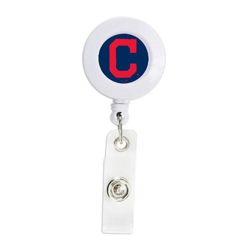 MLB Cleveland Indians Retractable Badge Reel