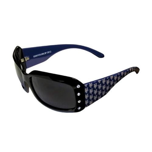 MLB New York Mets Women's Designer Bling Sunglasses