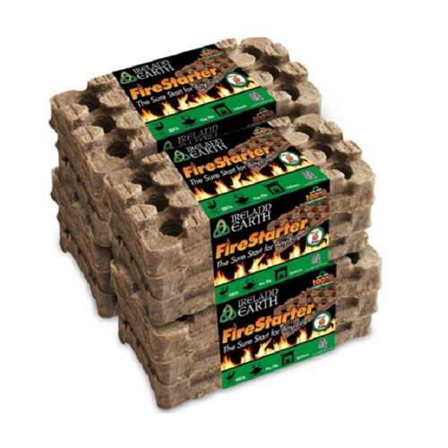 Ireland Earth All Natural, All Weather Fire Starters (6-Use)