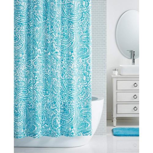 "Charter Club Paisley Print 72"" x 72"" Shower Curtain Blue"