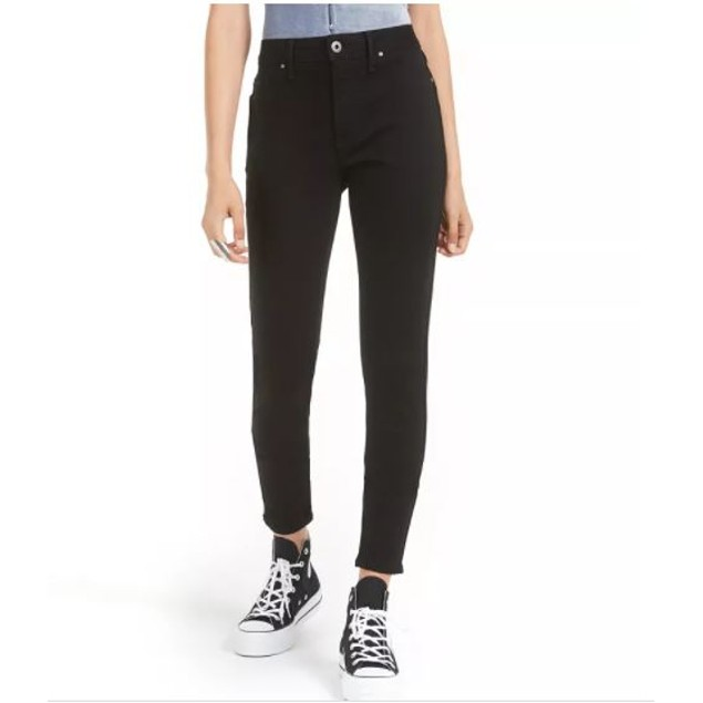 American Rag Junior's Colored Wash Skinny Jeans Black Size 5