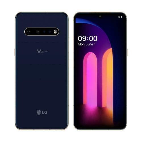 LG V60 128GB Unlocked Blue / White (A) - Renewed